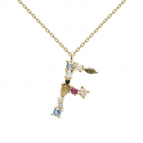 LETTERS - F NECKLACE U