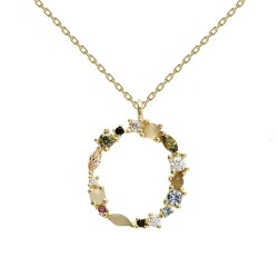 LETTERS - O NECKLACE U